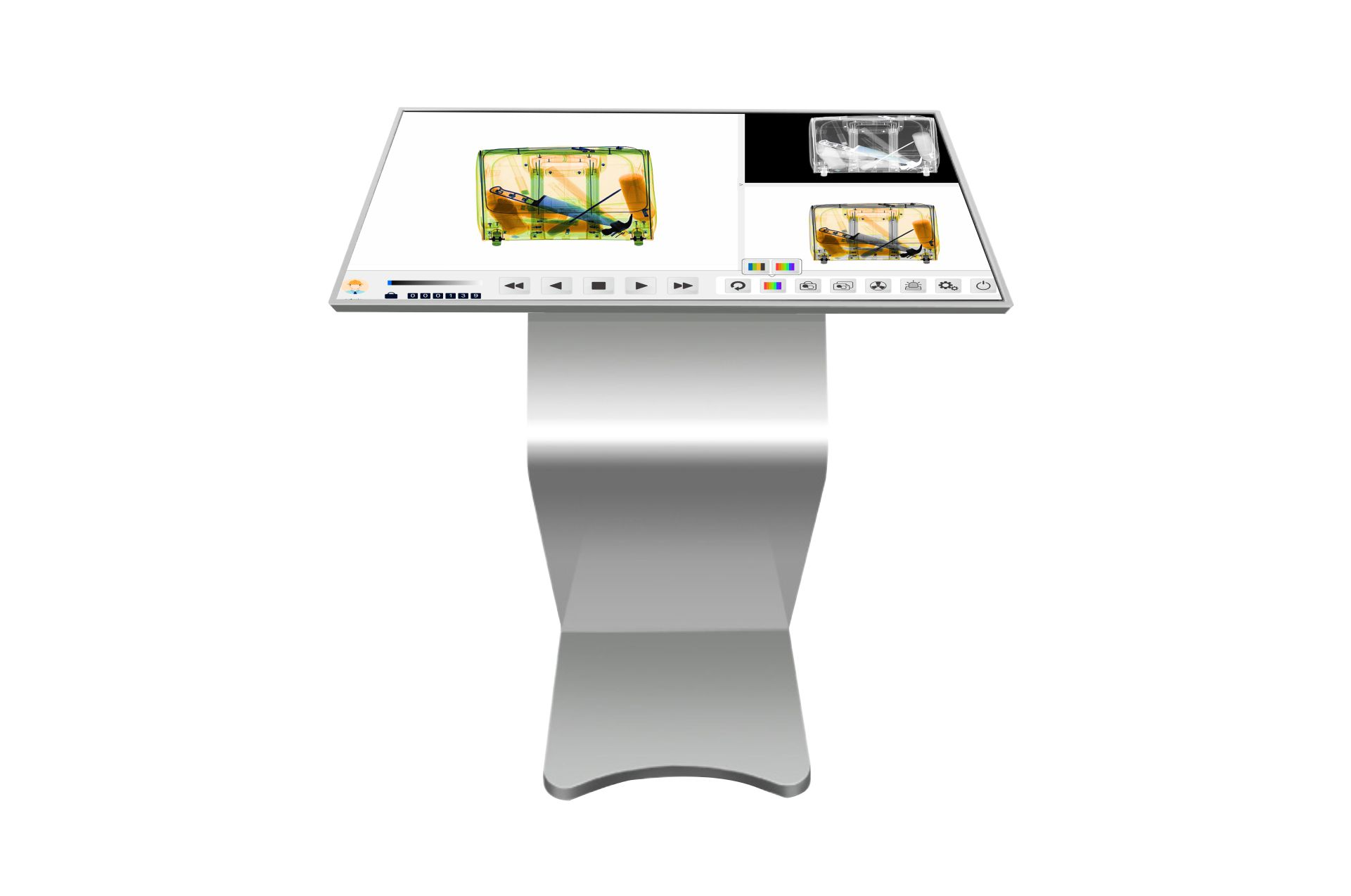 Touch screen dedicated console