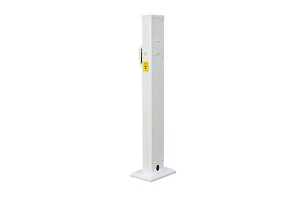 Safeagle SE20109 Infrared Human Body Temperature Detector Column With Disinfection Machine